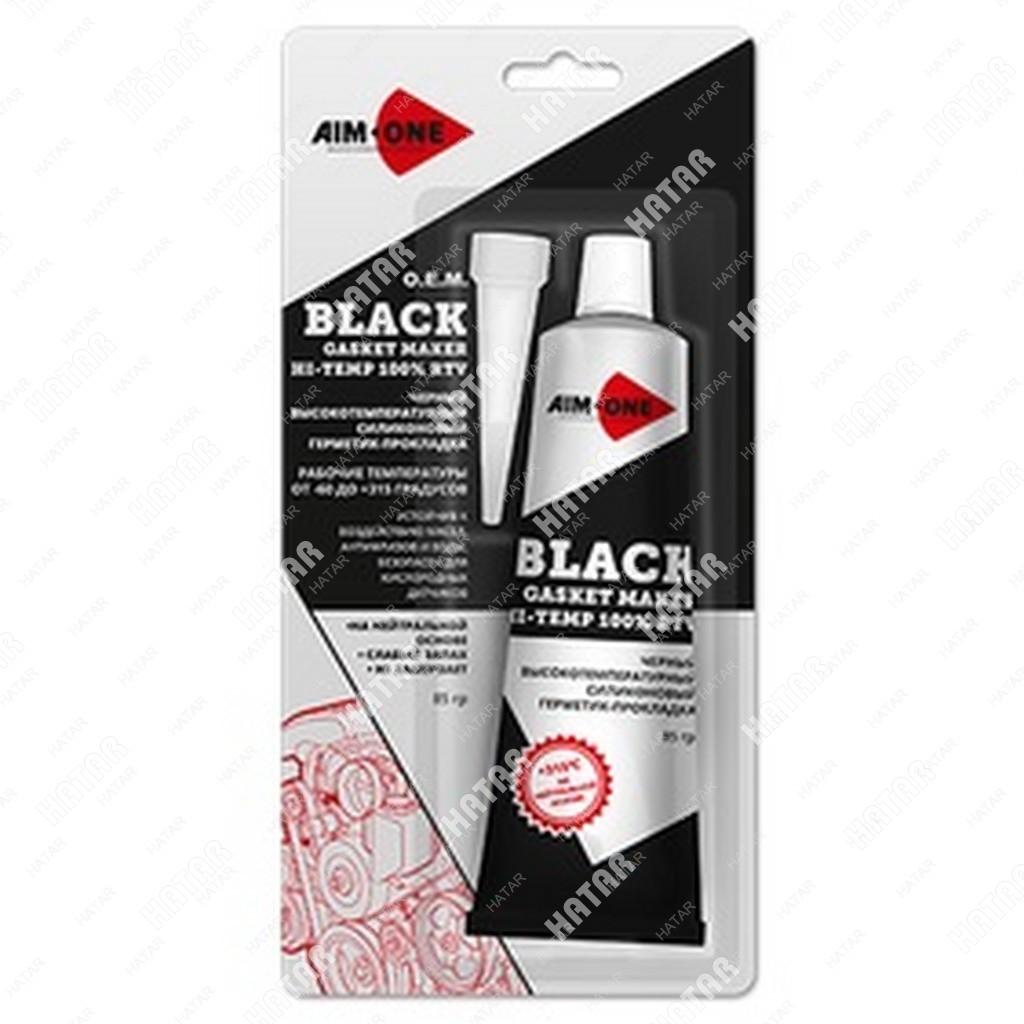 AIM-ONE Герметик для прокладок черный 85г