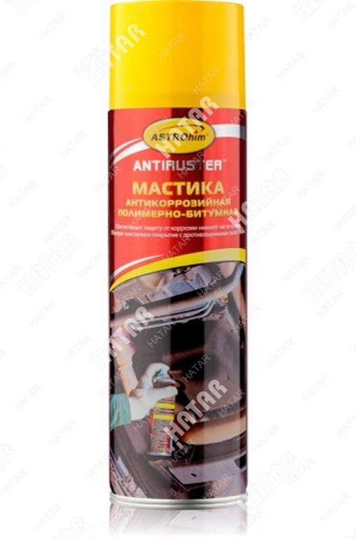 ASTROHIM Мастика антикоррозийная полимерно-битумная, серия antiruster, аэрозоль 650мл