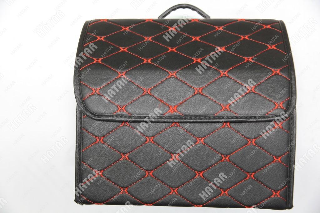 BOOST Кейс в багажник# малый черный/красный