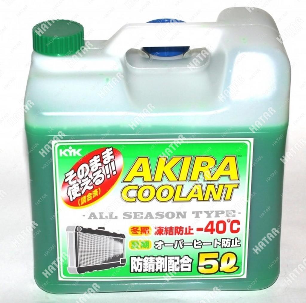 AKIRA Антифриз coolant green -50 зеленый 5л