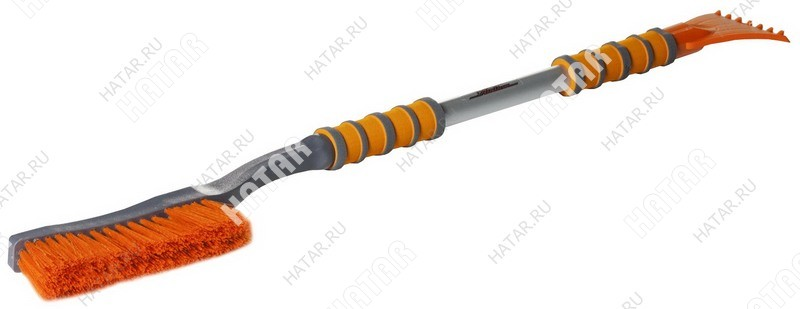 AIRLINE Щетка от снега и льда c эргономической ручкой и мягкой щетиной (92см)