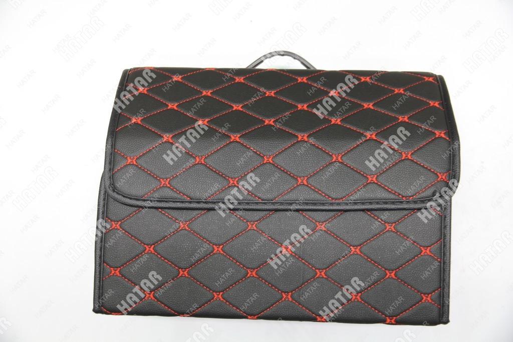 BOOST Кейс в багажник# cредний черный/красный