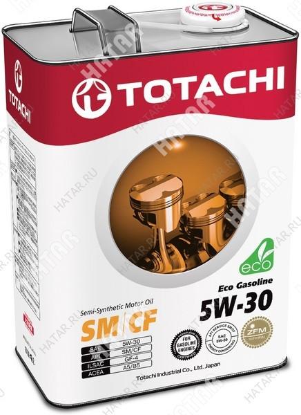 TOTACHI 5w30 eco-gasoline масло моторное, полусинтетика, sn/cf 4л