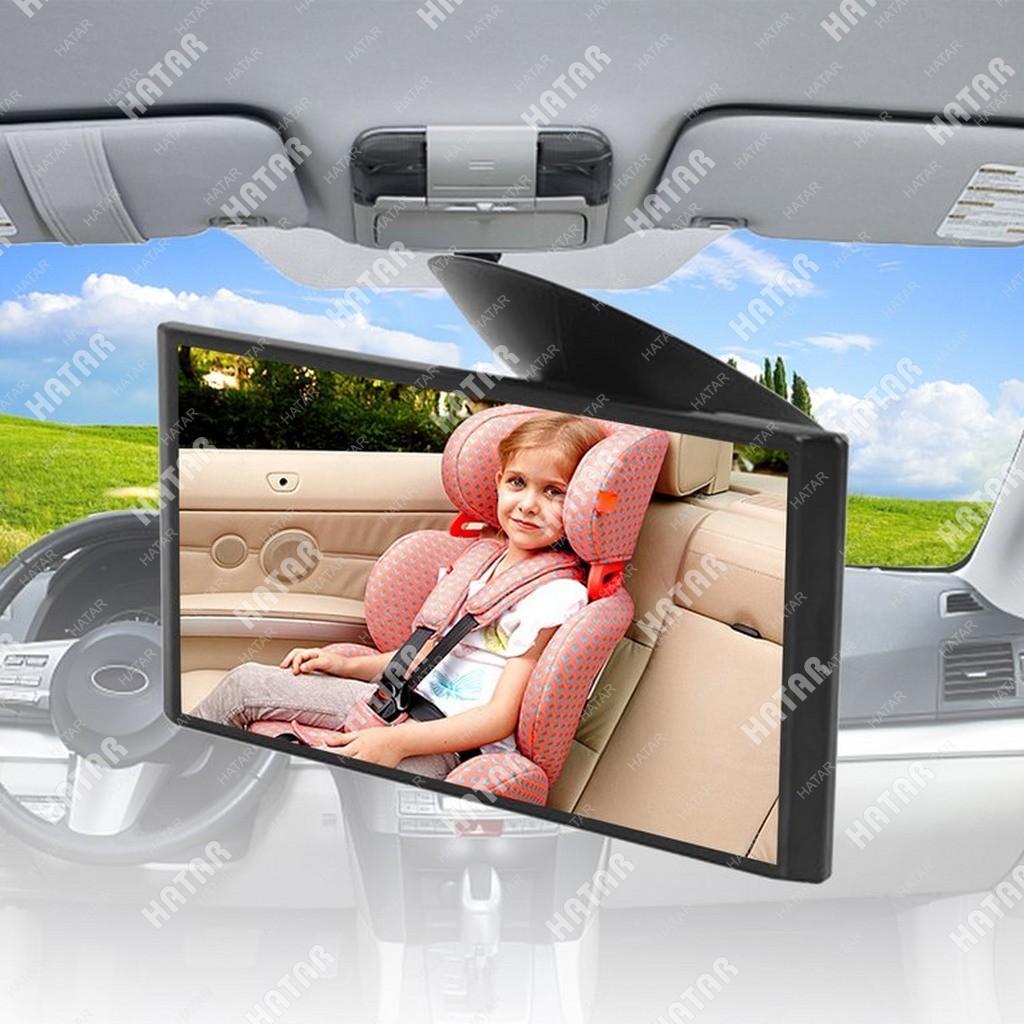 CARMATE Зеркало в салон автомобиля carmate mini mirror, плоское, черное (уменьшение)