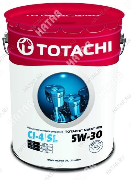 TOTACHI 5w30 niro md масло моторное,полусинтетика, ci-4/sl 16.5кг/19,34л