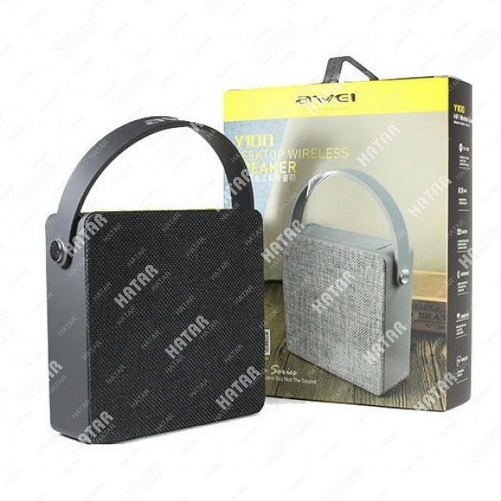 AWEI Портативная акустическая bluetooth колонка черная 1шт