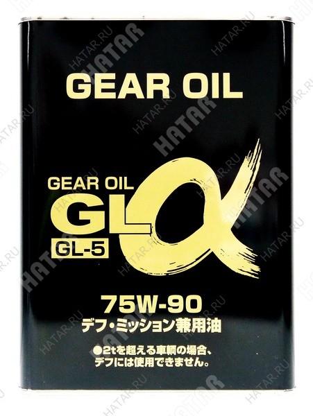 ALPHAS 75w90 трансмиссионное масло минеральное gl-5 4l
