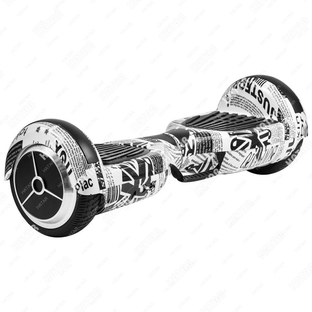 SMART Balance wheel гироскутер черно-белый