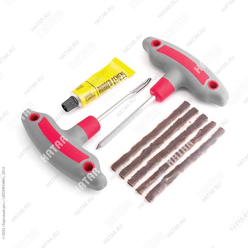 AUTOPROFI Ремкомплект бескамерных (шило-рашпиль, апликатор жгута, эластичные жгуты)