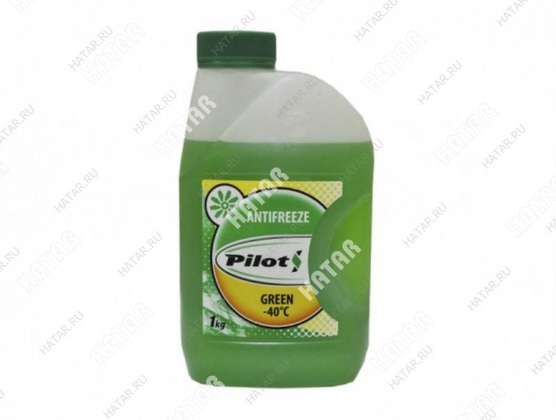 PILOTS Антифриз green (зеленый)  -40с 1кг