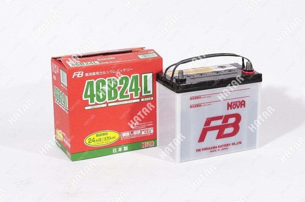 FB Аккумулятор fb super nova япония ёмкость 45 ah, пусковой ток 330а