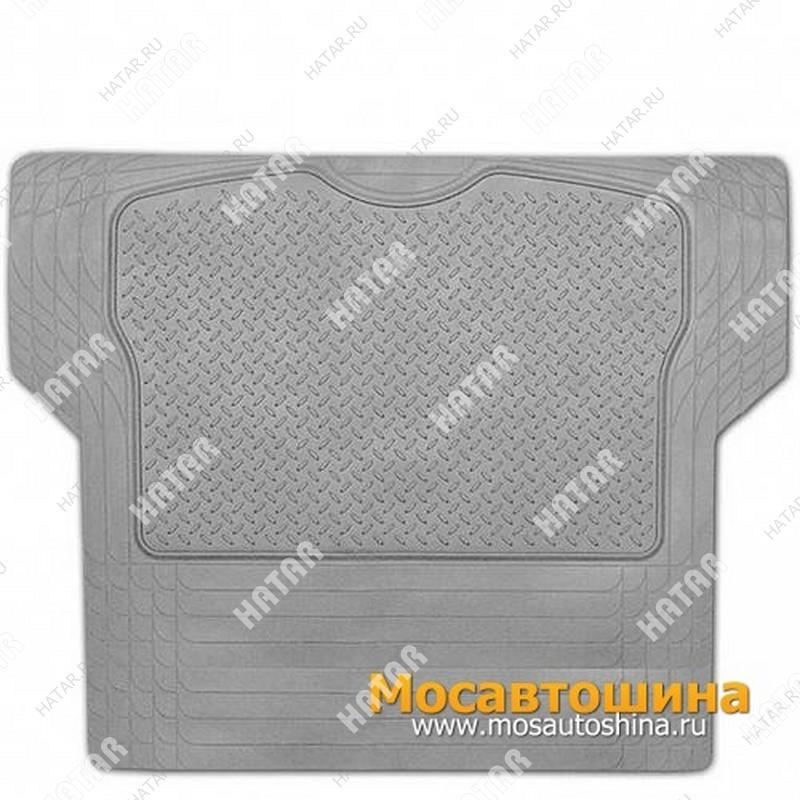 AUTOPROFI Коврик в багажник, универсальный, пвх, 144х110см пвх серый