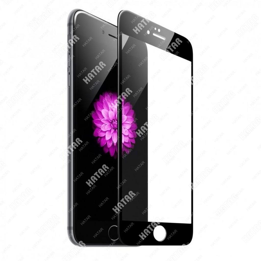 APPLE Стекло защитное 5d для apple iphone 8+ черное