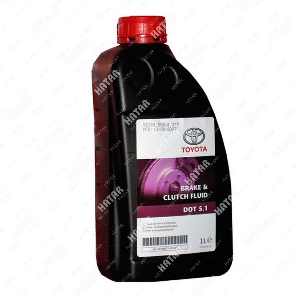 TOYOTA Dot 5.1 тормозная жидкость 1л