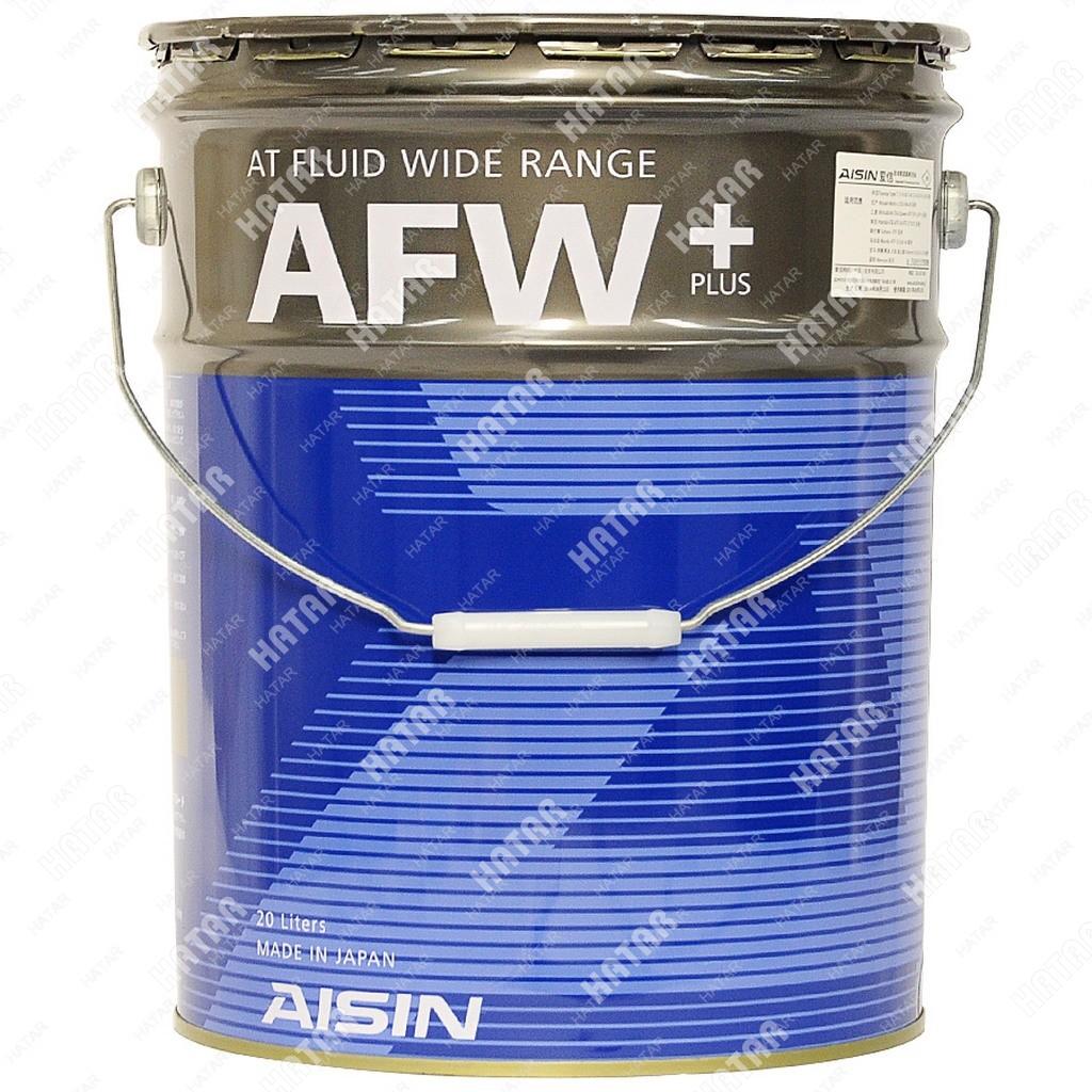 AISIN Afw+ жидкость для акпп, 20л