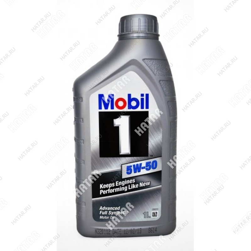 MOBIL 5w50 масло моторное peak life 1l