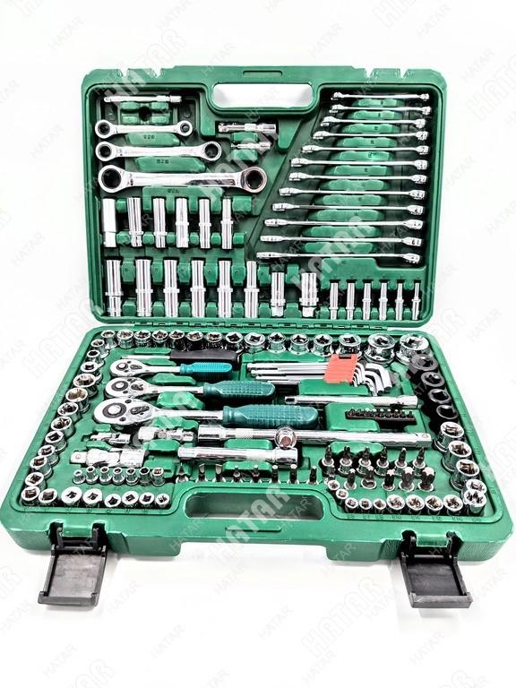 BOOST Набор инструментов универсальный 150 предметов (пластиковый кейс)
