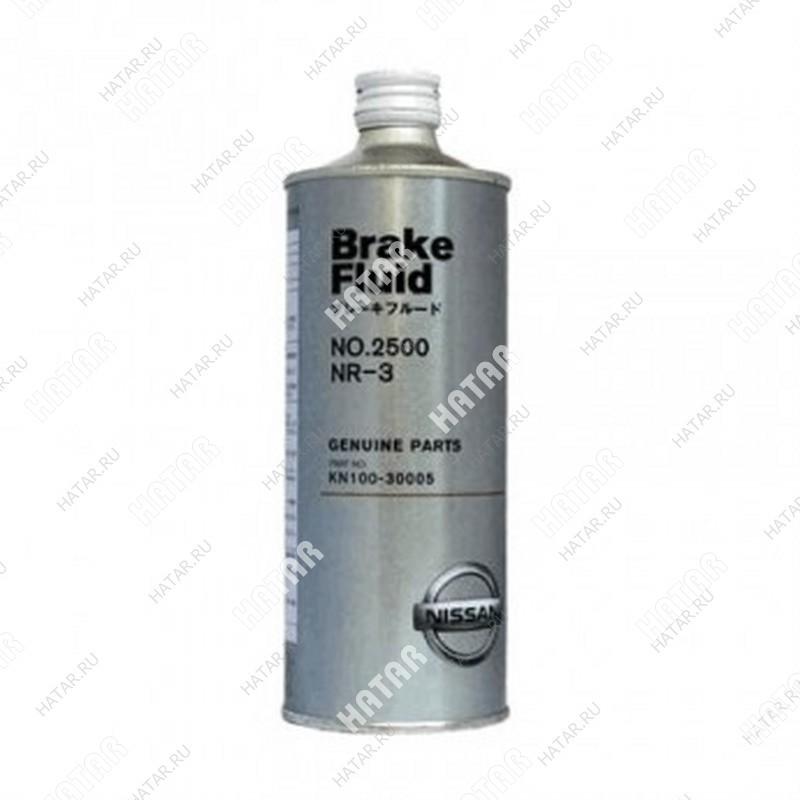NISSAN Brake fluid dot-3 тормозная жидкость 0,5л