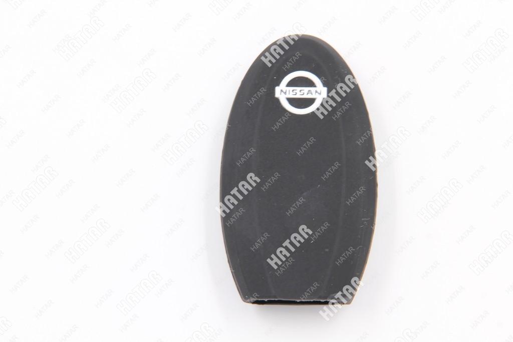 BOOST Чехол для брелока автосигнализации nissan-2 (черный) 3 кнопки