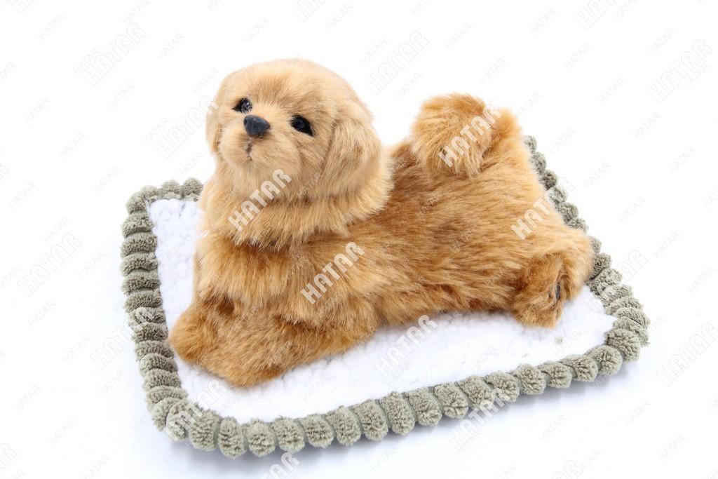 BOOST Собака игрушка украшение на панель рыжая