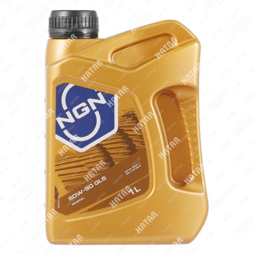 NGN 80w90 масло трансмиссионное минеральное gl-5 1л