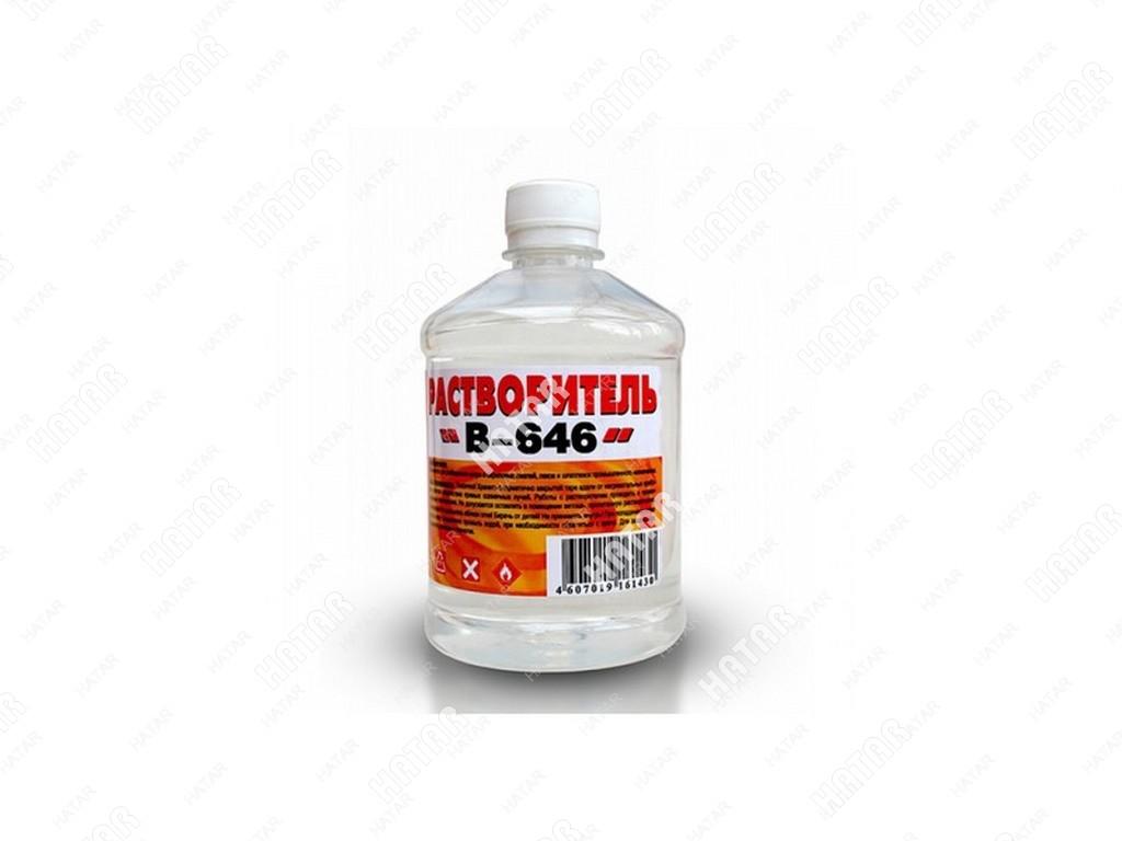 "ВЕРШИНА Растворитель ""вершина"" 646 0,5л пластик бутылка"