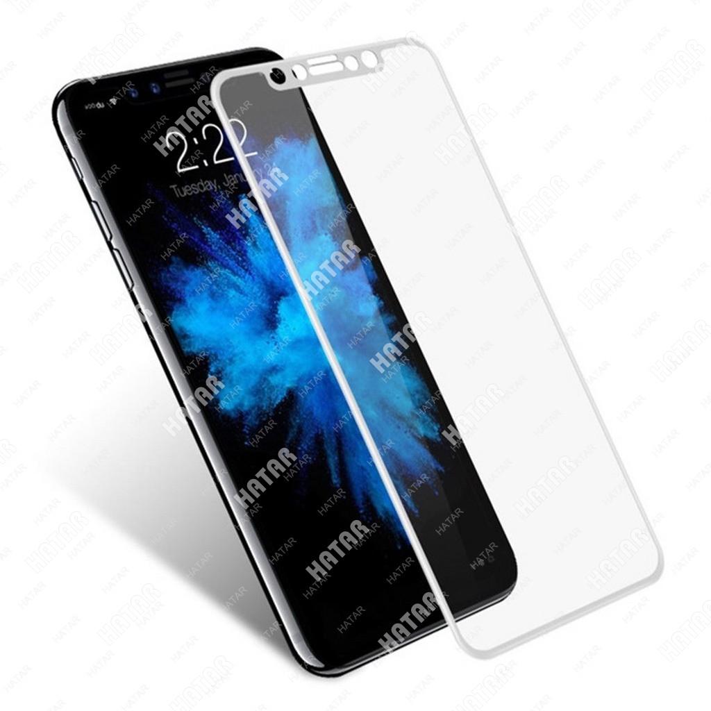 APPLE Стекло защитное для apple iphone x 9h белое