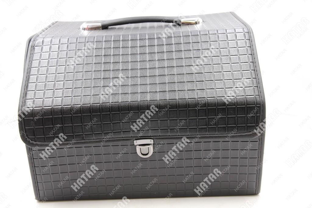 BOOST Кейс в багажник малый черный клетка