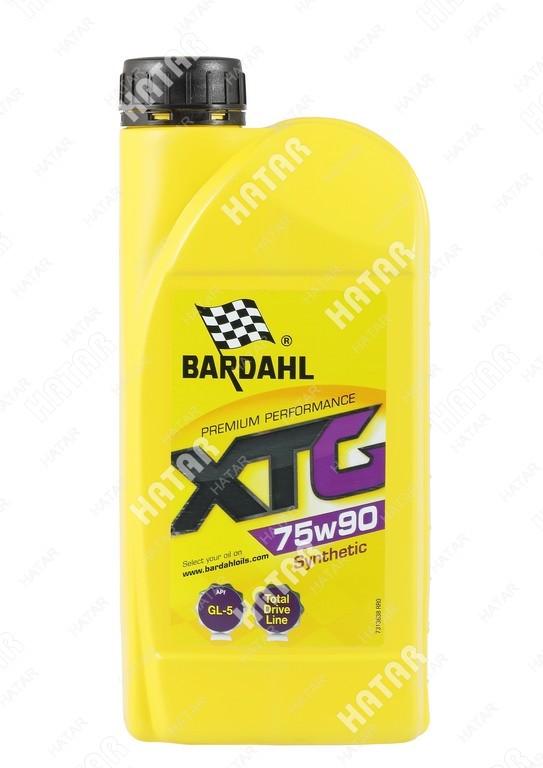 BARDAHL 75w-90 xtg трансмиссионоое масло синтетика gl4/5 1л