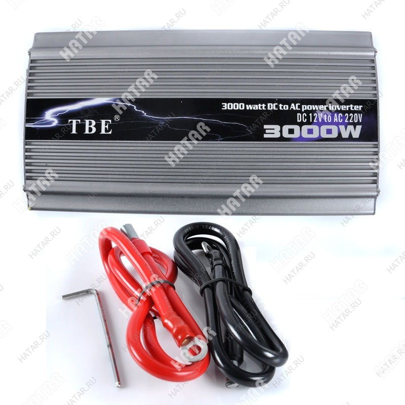 TBE 3000w  преобразователь напряжения 12-220v