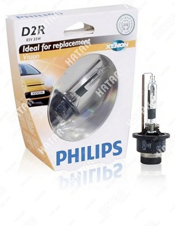 PHILIPS Philips лампа d2r vision 85v 35w p32d-3