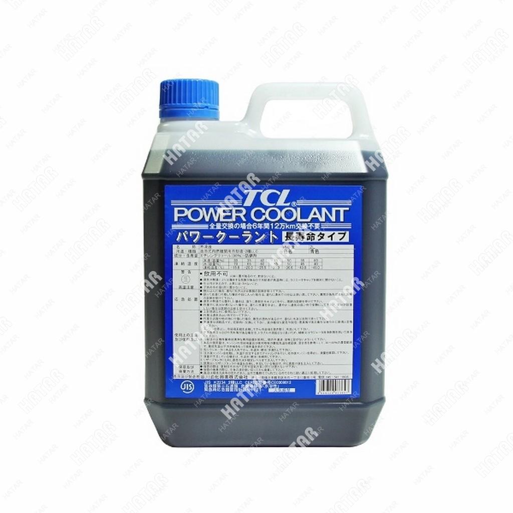 TCL Антифриз power coolant концентрированный синий, длительного действия, 2л