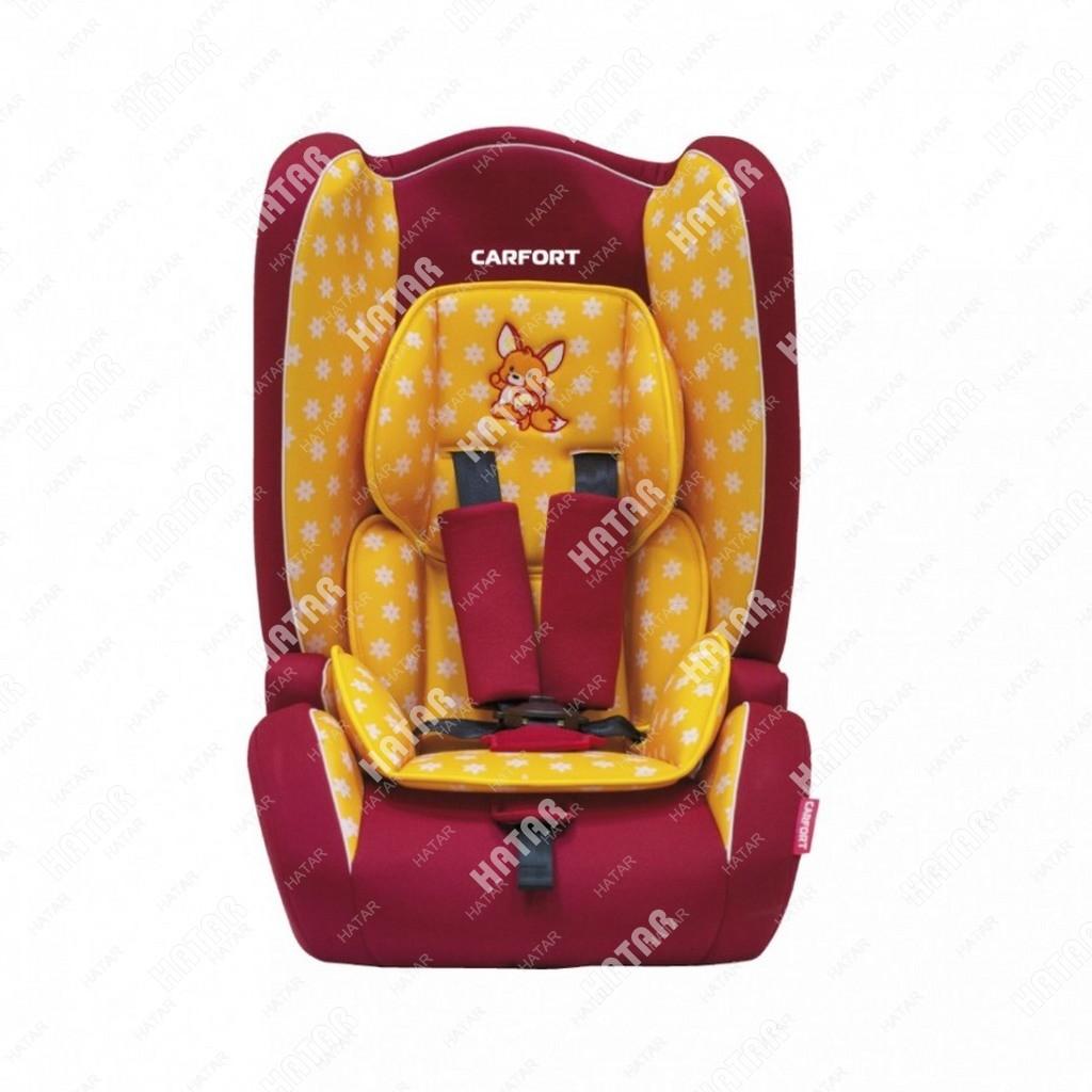 CARFORT Кресло детское автомобильное kid 04, желтое, 9-36кг