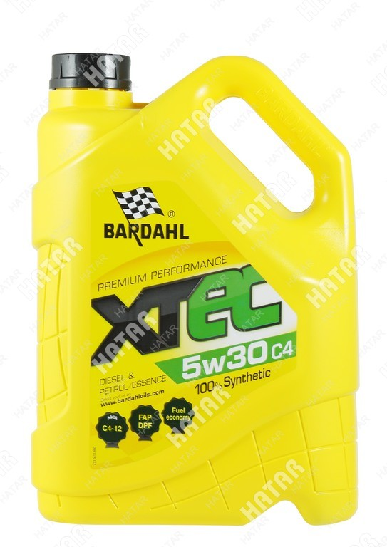 BARDAHL 5w-30 xtec cинтетическое моторное масло c4-12 4л