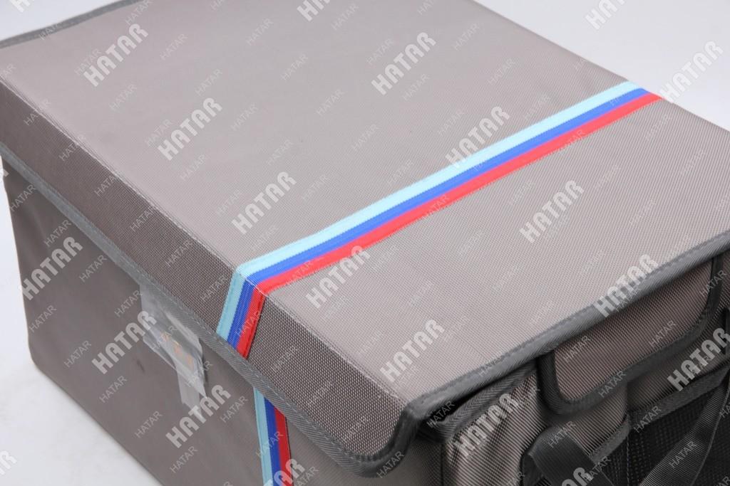 BOOST Кейс в багажник  серый (48cm*31cm*27cm)