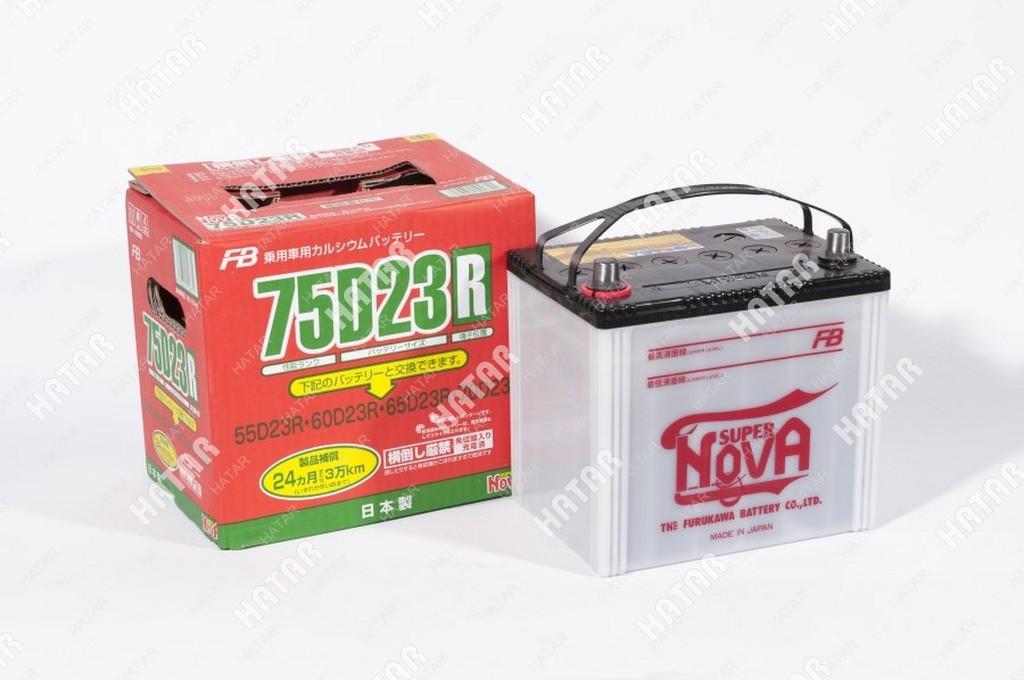 FB Аккумулятор fb super nova япония ёмкость 65 a/ч, пусковой ток 620а япония