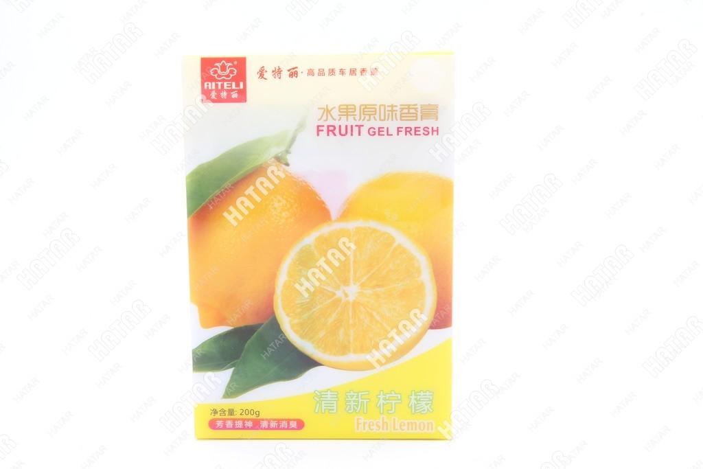 AITELI Fruit fresh lemon ароматизатор гелевый