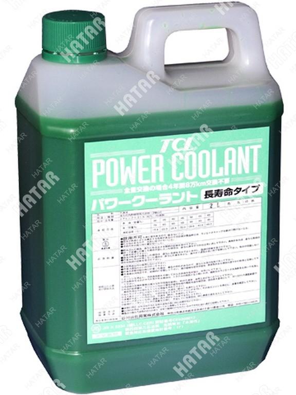 TCL Антифриз power coolant концентрированный зеленый, длительного действия, 2л