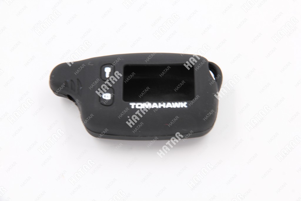 BOOST Чехол для брелок 9010 tomahawk силиконовый черный