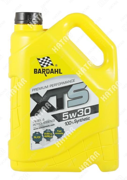 BARDAHL 5w-30 xts cинтетическое моторное масло sl/cf 4л