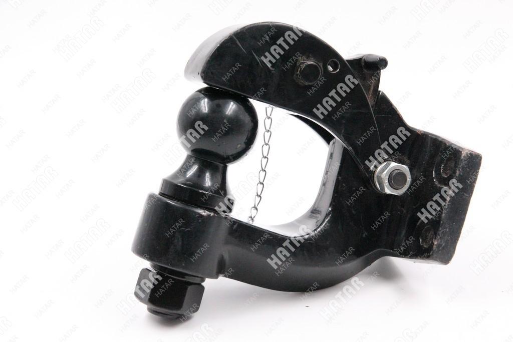 FRP Фаркоп малый с шаром черный