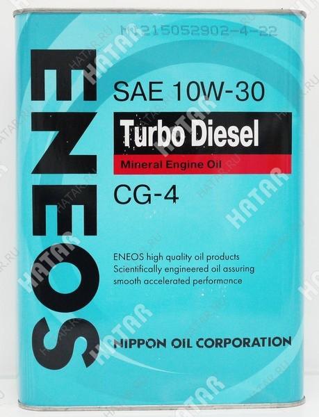 ENEOS 10w30 turbo diesel минеральное моторное масло cg-4 0.94л