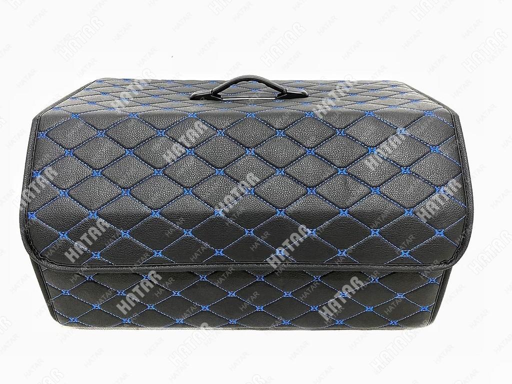BOOST Кейс в багажник# большой черный/синяя нить