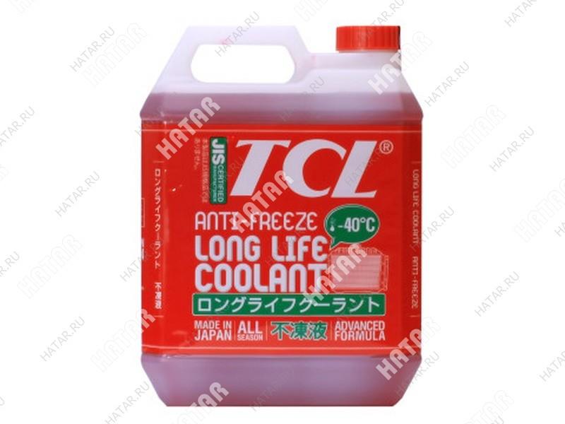 TCL -40 red антифриз 4l