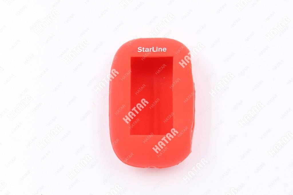 BOOST Чехол для брелок b92 starline силиконовый красный