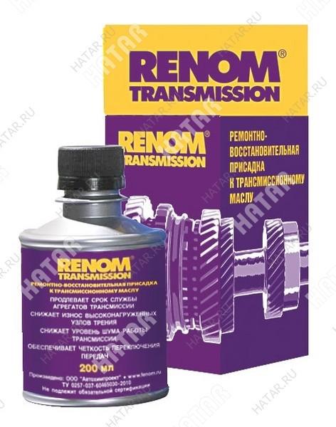 FENOM Ремонтно-восстановительная присадка к трансмиссионному маслу renom tranmission 200мл