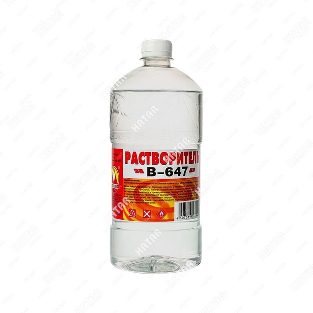 "ВЕРШИНА Растворитель ""вершина"" 647 1л пластик бутылка"