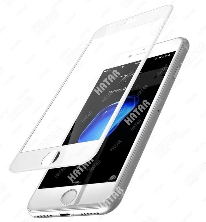 APPLE Стекло защитное 4d для apple iphone белое