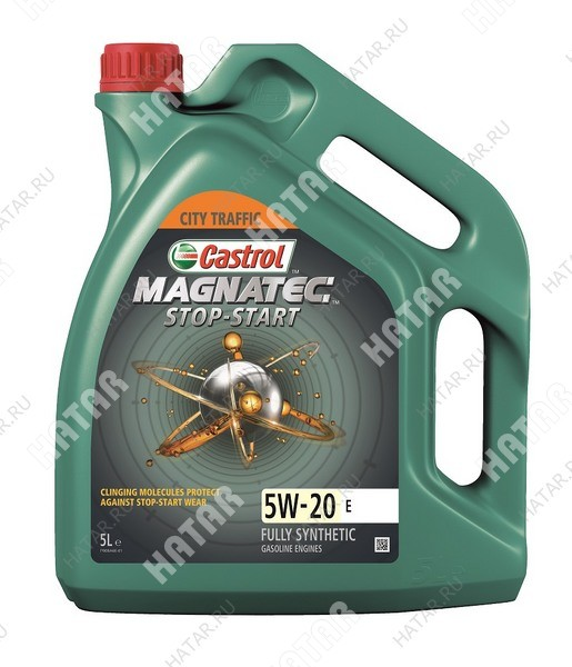 CASTROL Magnatec stop-start e 5w20 масло моторное синтетика sn 5л