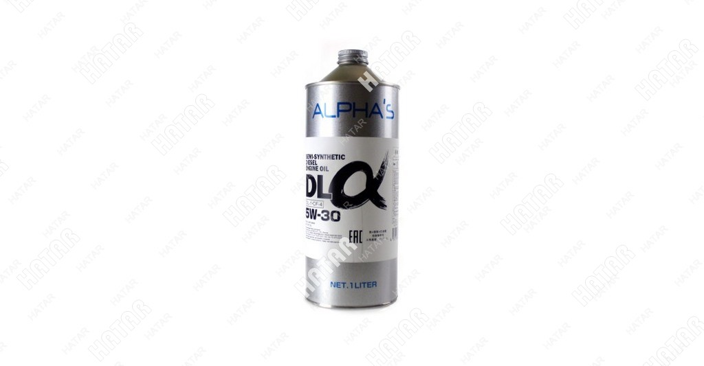 ALPHAS 5w30 dl-α масло моторное (полусинтетика дизель, оснащенный сажевым фильтром) dl-1/cf-4 1л